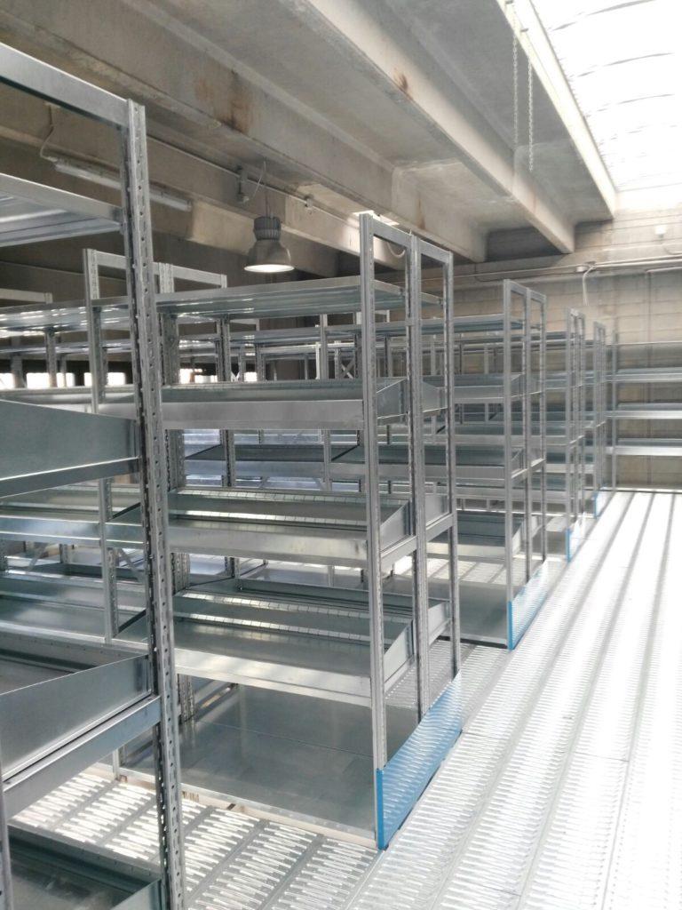 Scaffalature Metalliche Genova Via Gavette.Scaffalature Ad Incastro Mec System