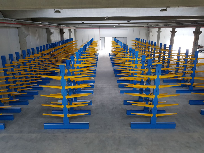 Scaffalature Metalliche Genova Via Gavette.Scaffalature Cantilever Mec System