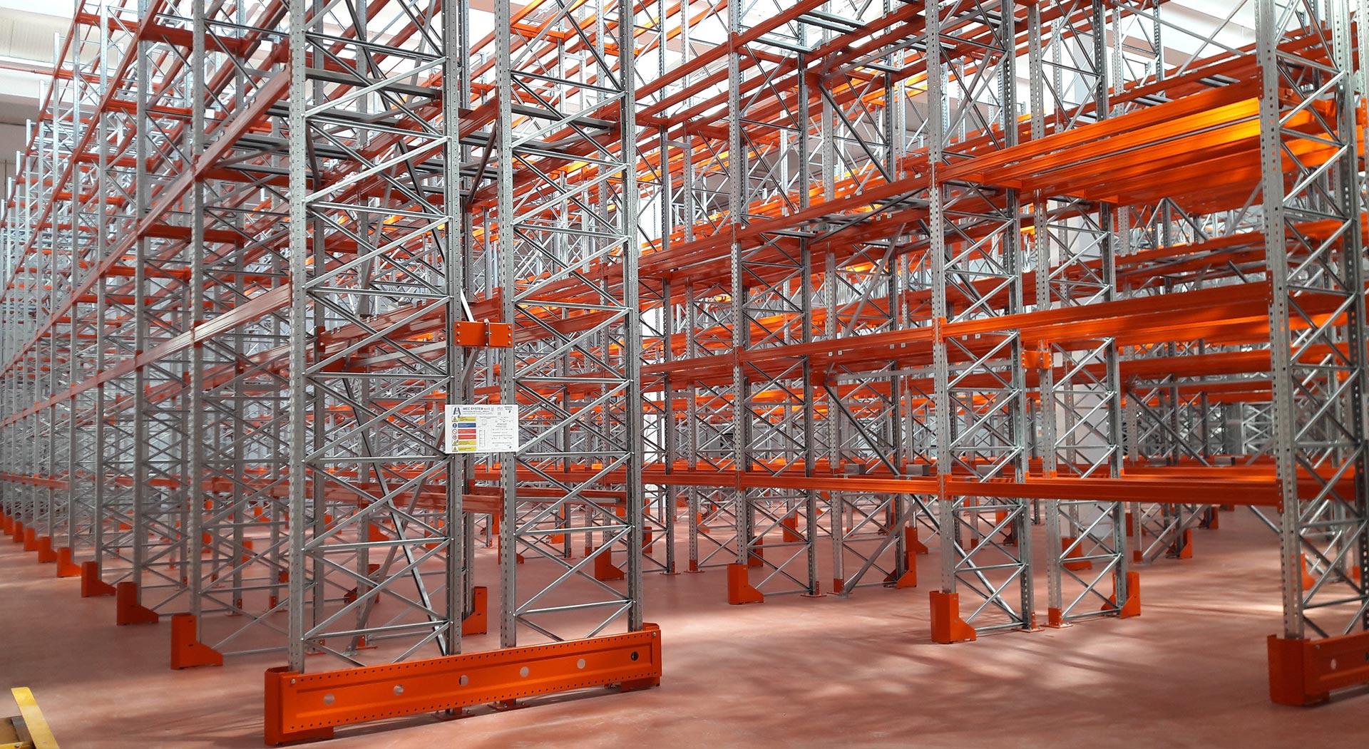 Mec System Scaffalature.Metal Racks And Intermediate Floors Mec System